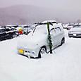 1日の降雪量